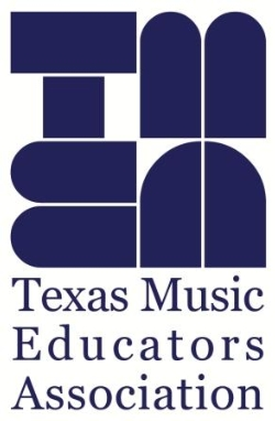 Texas Music Educators Association Logo- Blue